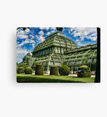 Tropical House in an Austrian Zoo Canvas Print