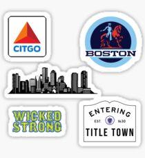 Boston Sticker Pack Sticker