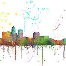 Des Moines, Iowa-Skyline von Marlene Watson