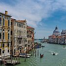 View from the Accademia Bridge, Venice by JMChown