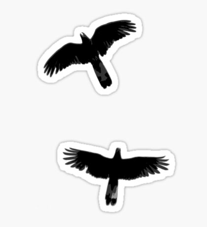 Fly Away With Me Sticker