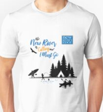 The New River is Calling Slim Fit T-Shirt