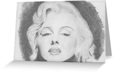 Marilyn Monroe by Christy  Bruna