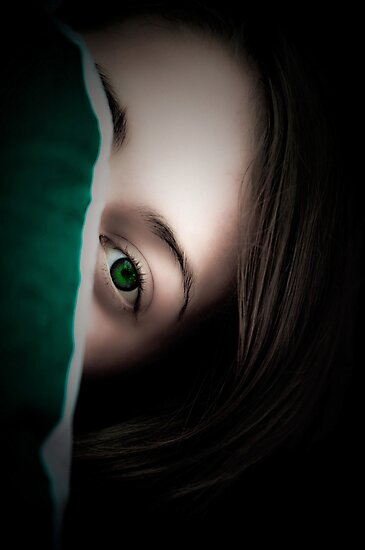 Green Eyed Lady by Annie Lemay  Photography