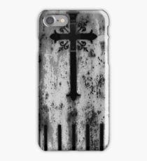 Pere Lachaise Cross iPhone Case/Skin