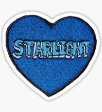 Sternenlicht-Herz Sticker