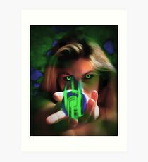 Mother Earth (Take Heed She speaks To Us All) Art Print