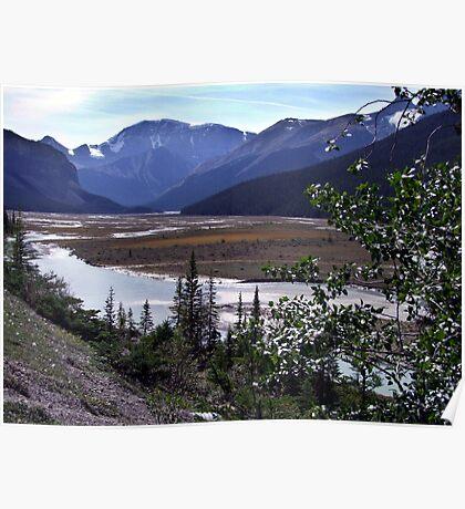 Beauty Creek Flatlands Poster
