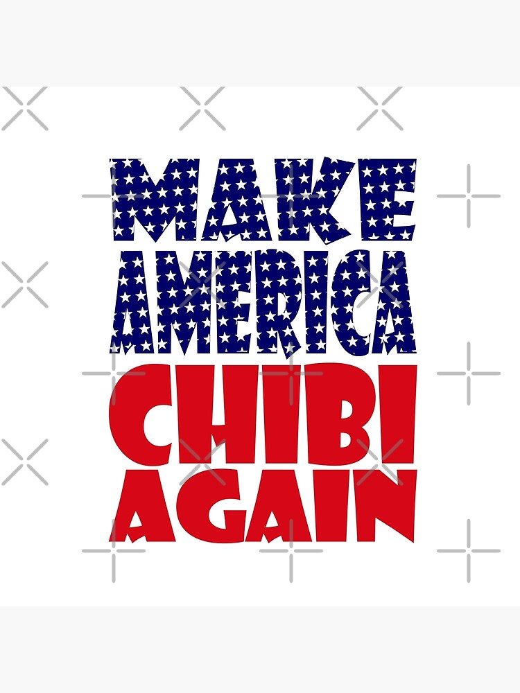 POLITICO-BOT: Make America Chibi Again by carbonfibreme