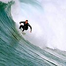 Surfer And Surf 110810a by Raoul Isidro