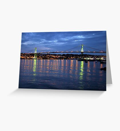 Early Evening-Halifax Greeting Card