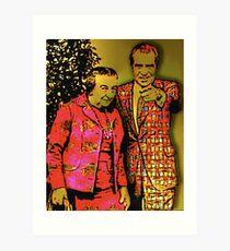Dick & Golda Art Print