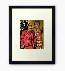 Dick & Golda Framed Print