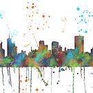 Memphis, Tennessee-Skyline von Marlene Watson