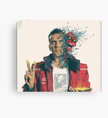 Logic album cover dangerous mind Canvas Print