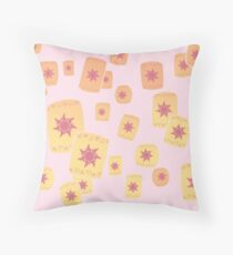 Floating Lanterns Gleam Variant Throw Pillow