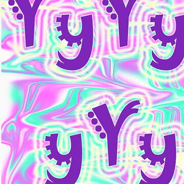 letter Y by annieannie