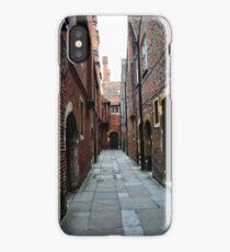 Hampton Court Palace alleyway iPhone Case/Skin