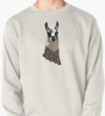 Llama Pullover Sweatshirt