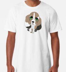 Chibi Basset Hound Long T-Shirt