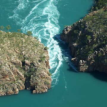 Horizontal Falls by CassarrArt