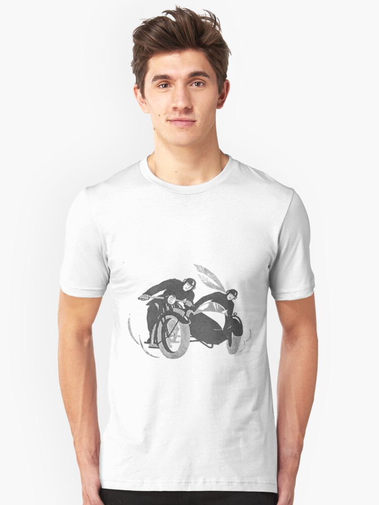 1920's Motorcycle race by Gareth Stamp