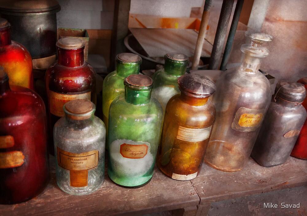 Chemistry - Chemists Rainbow  by Mike  Savad