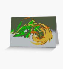 """""""Minimalistic Pokemon - Mega Rayquaza """" by limitedskins.com Greeting Card"""