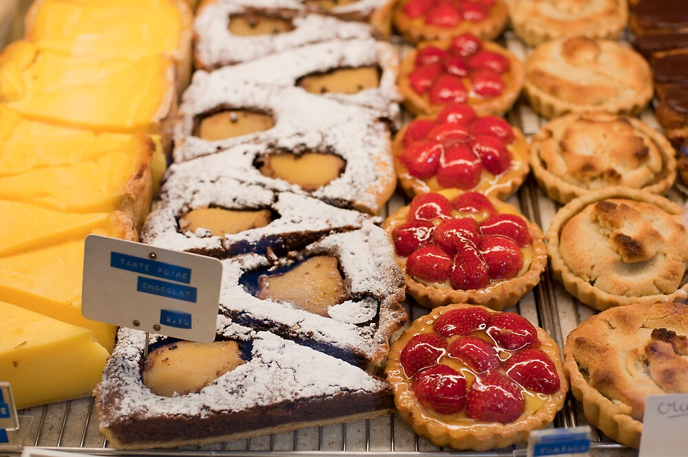 French pastries & cakes in Paris by Skye Hohmann