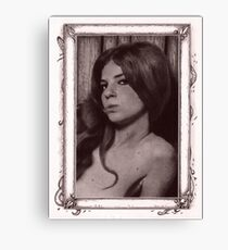 Tarot 1 - The Sorceress Canvas Print