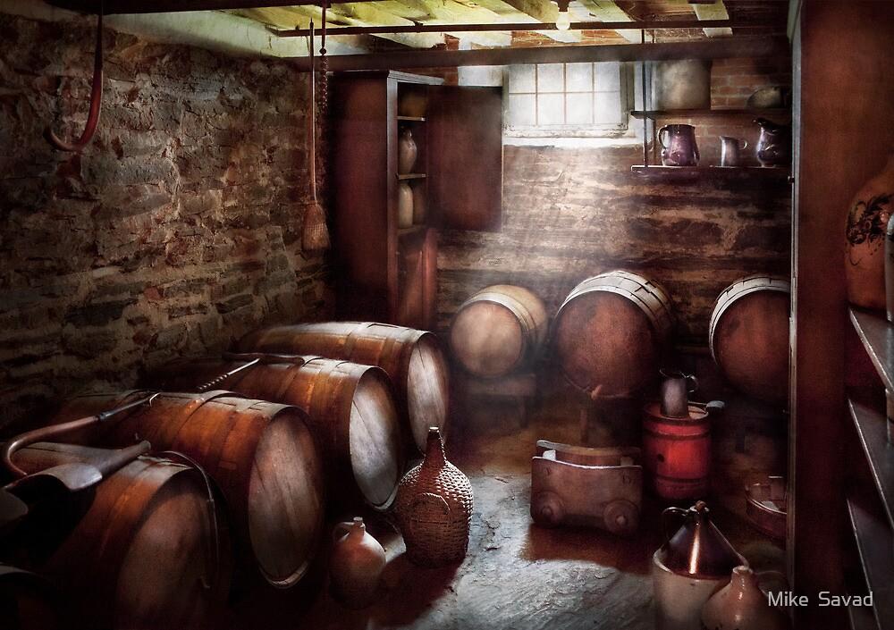 Hobby - Wine - The Wine Cellar  by Michael Savad