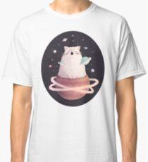 Yawning Space God Cat Classic T-Shirt