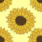 Yellow and Orange Sunflowers by caseykayb