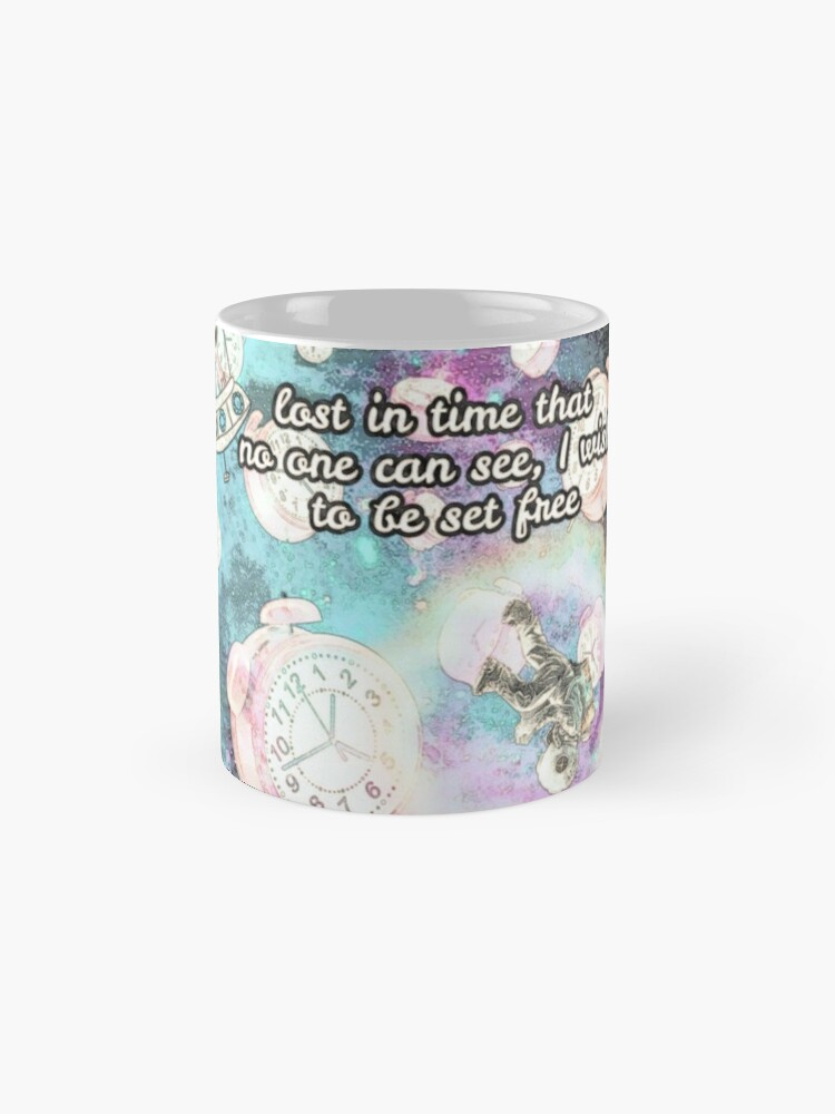 Alternate view of  Lost in Time Mugs