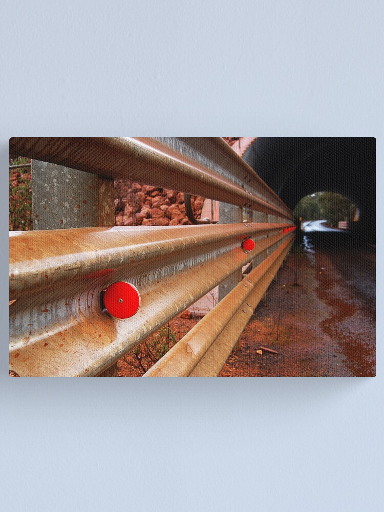 Alternate view of Into the Tunnel Canvas Print