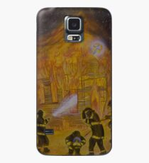Burn Your Hate Not Our Church Case/Skin for Samsung Galaxy