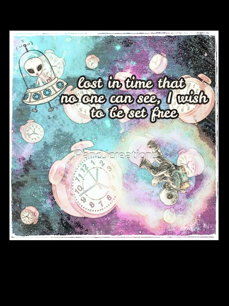 Lost in time (white border) by PandJcreations