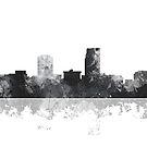 Omaha, Nebraska-Skyline von Marlene Watson