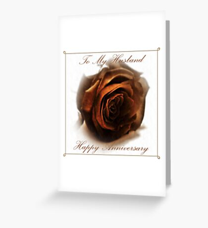 Anniversary Card Greeting Card