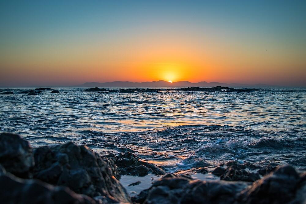 Dramatic Sunrise by Aiin Ojani