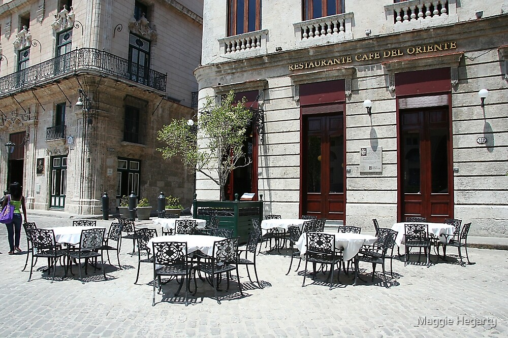 Cafe del oriente by Maggie Hegarty
