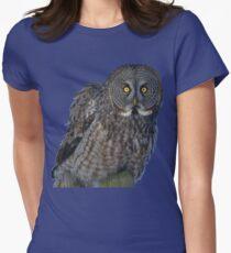 Great Gray Owl Portrait II T-Shirt