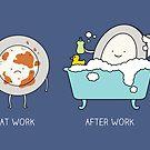 Bubble bath by Milkyprint