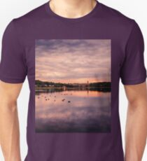 Sun  dusk, Boston MA Unisex T-Shirt
