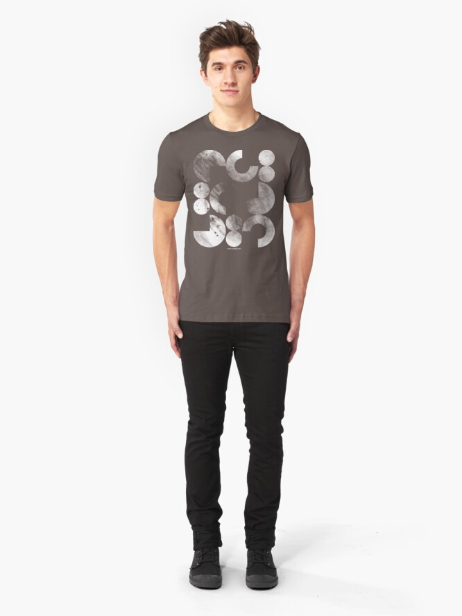 Alternate view of Dirty Shapes Slim Fit T-Shirt
