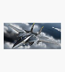 VF-103 Jolly Rogers F-14 Tomcat Photographic Print