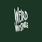 Weird Whitstable 3d logo by Quinton Winter