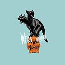 Weird Whitstable 2 Headed Cat! by Quinton Winter