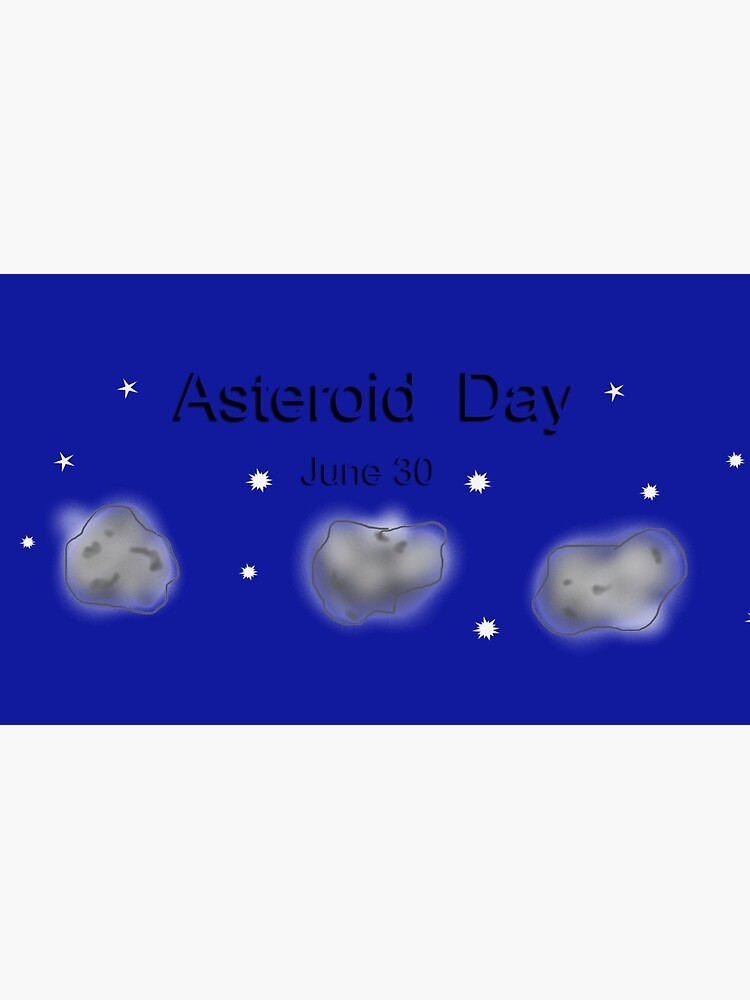 Asteroidday by LeonaPaints