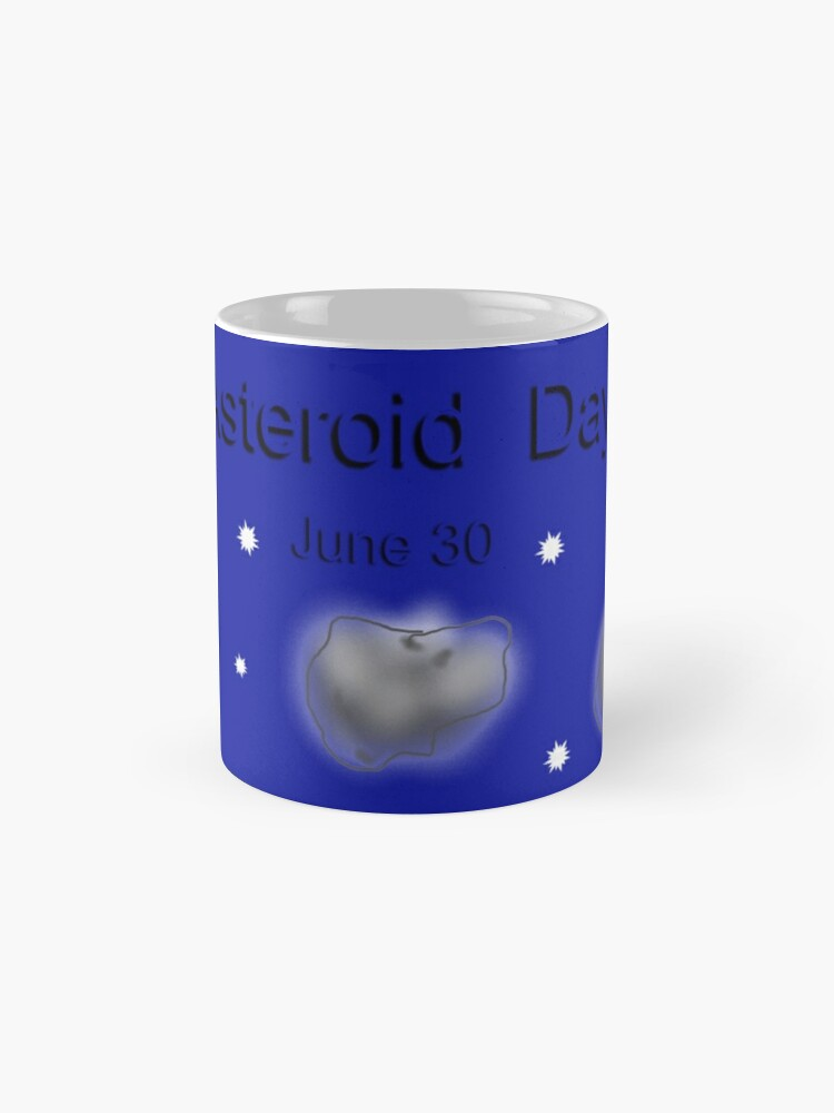 Alternate view of Asteroidday Mugs